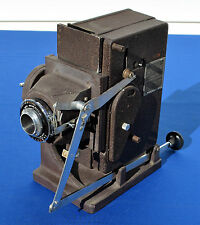 WW2 Graflex Photorecord Vintage Army ID Camera Front inc Magazine   #1367
