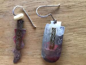Unusual Silver earrings
