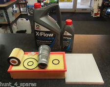 TOYOTA AVENSIS 2.2 T25 SERVICE KIT OIL AIR FUEL CABIN FILTERS -(2ADFHV) 6L XFLOW