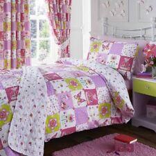 Parures et housses de couette rose à motif Patchwork pour chambre