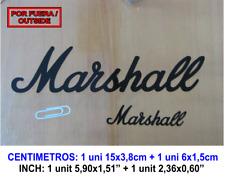 MARSHALL GUITAR MUSIC VINILO PEGATINA VINYL STICKER DECAL AUFKLEBER AUTOCOLLANT