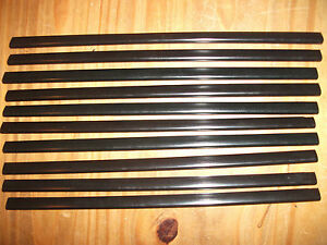 10 x A4 SLIDE BINDERS / SPINE BARS - BLACK - 5MM CAPACITY - ONLY £2.99 INC P&P