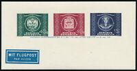 ÖSTERREICH 1949, UPU-Adresszettel, 943-945 y, tadellos postfrisch, Mi. 80,-