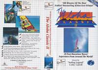 SURFING THE ALOHA CLASSIC11  SURFING VIDEO VHS PAL A RARE FIND