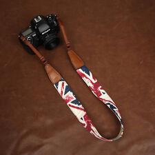 Union Jack (British Flag) Pattern Denim Cam-in DSLR Camera Strap CAM7157 | UK