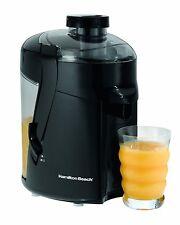 Hamilton Beach 67801 Health Smart Juice Extractor Black Juicer NEW