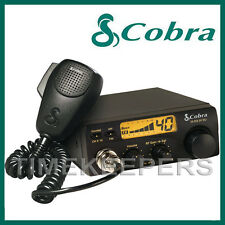 COBRA 19DX IV EU Version Fixed LCD AM FM Multi Band CB Radio Transceiver & Mic