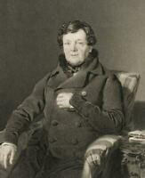 HOLL (19. Jh.), Daniel O'Connell, ca. 1844, Stahlst.