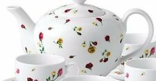 Teapot & Lid in Country Rose Buds by Royal Albert NEW 4 CUP