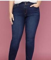 Lane Bryant Straight Leg Tighter Tummy Technology Jeans Size 20