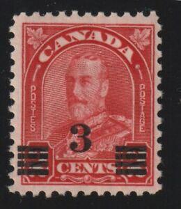 """CANADA 1932 #191 King George V """"Arch/Leaf"""" Provisional - F MNH"""