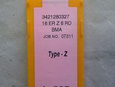 Placas de rosca de cpt, tipo Z, 16er Z 6 rd BMA, como r166.og/266rg alrededor de rosca