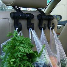 Plastic Hanger Convenient Car Seat Hooks Purse Shopping Bag Organizer Holder