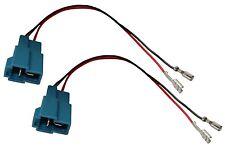 2 x Conectores adaptadores para altavoces de Chevrolet Hyundai Subaru