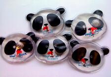 2 X Heat In A Click Reusable Small Heat Pads Hand Warmers Pocket Panda Bear Kids