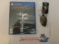 New * Dishonored 2 Limited Edition - ps4 + Keychain * Sealed * PlayStation 4 lot