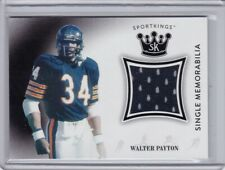 Walter Payton 2018 SportKings Single Memorabilia Chicago Bears Jersey SM-WP