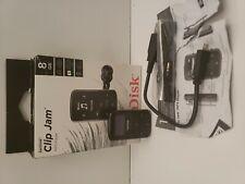 SanKisck Sansa Clip Jam 8GB MP3 Player With FM Radio MicroSD in box