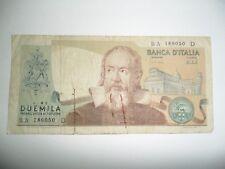 BANCONOTA 2000 LIRE G. GALILEI REPUBBLICA ITALIANA 1973