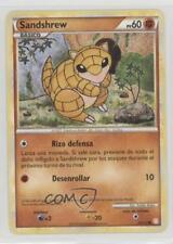 2010 Pokémon HeartGold & SoulSilver Base Set Spanish #79 Sandshrew Card 2f4