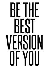 Motivazionali Ispiratore Citazione positiva della vita POSTER PICTURE PRINT Wall Art 105