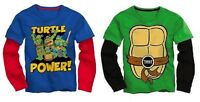 Teenage Mutant Ninja Turtles Toddler Boys Long Sleeve T-Shirt Size 2T,3T,4T,5T