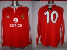 British Lions Wilkinson New 2XL Adidas L/S Rugby Union Shirt Jersey BNWT England