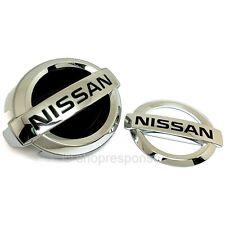 JDM Nissan 09-13 Infiniti G37 Sedan 4DR Skyline V36 Front & Rear NISSAN Emblems
