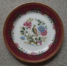 Wood & Sons English Ironstone decorative wall plate- exotic birds in foliage