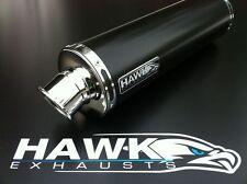 Hawk Triumph 955i 2003 - 2004 Redonda Negra De Escape puede Silenciador Sl