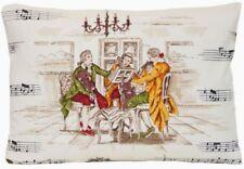 Cotton Blend Music Modern Decorative Cushions