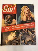 Vintage Sir! Magazine - July 1952