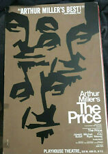 Arthur Miller The Price 1979 Broadway window card