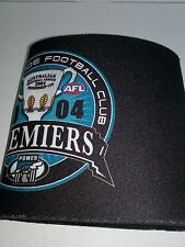 PORT ADELAIDE 2004 PREMIERS CAN HOLDER BOTTOM LESS BRAND NEW