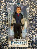 RARE Disney Store Exclusive Frozen HANS Coronation Classic Doll NIB