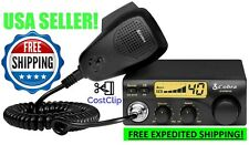 Cobra 19 Ultra Mobile CB Radio Small Jeep Truck Driver Car SUV ATV UTV RV VAN