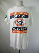 F3052  VTG Chicago Bears NFL Football Fan Club 50/50 T-shirt Size M Made in USA