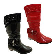 Calzado de niña sin marca color principal rojo