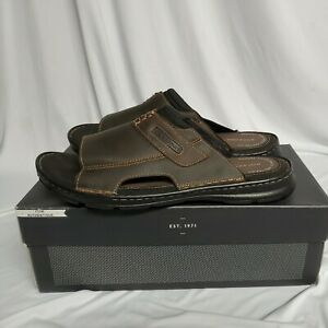 Rockport Men's Darwyn Slide 2 Sandals Brown