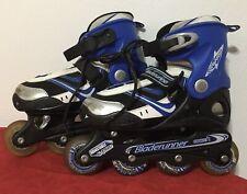 Dynamo ~ Bladerunner Inline Rollerblades Skates Adjustable Youth/Boys Sz 4,5,6,7
