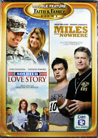 Soldier Love Story / Miles From Nowhere NEW DVD Double Feature Faith Family