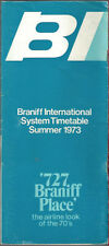 Braniff International Airways system timetable 7/15/73 [8021]