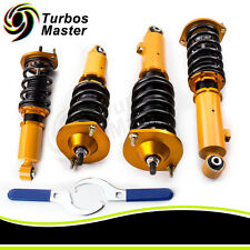 for Mazda Miata 90-05 Adj.Height Coilovers 96-98 NA NB MX5 Shocks Spring Struts