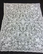 STUNNING! Antique Net crochet Lace Tablecloth Vintage  Lots listed! Thanksgiving