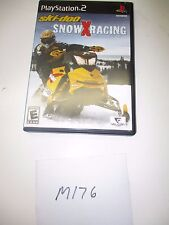 PLAYSTATION 2 SKI-DOO SNOW SNO X RACING GAME CD M176