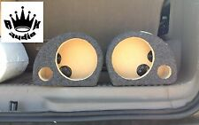"6.5"" Component Speaker Box Enclosure Rockford Fosgate Power T2652-S Car Boxes"