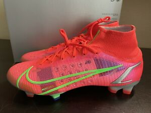 Nike Mercurial Superfly 8 Elite FG Bright Crimson sz 10 [CV0958-600] $275