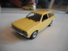 Minichamps Opel Kadett C Caravan 1973-1979 in Yellow on 1:43