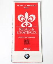CARTE MICHELIN COLLECTOR RELAIS ET CHATEAUX FRANCE 2017 BMW