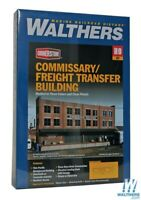 Walthers 933-3173 Commissary-Freight Transfer Background Building Kit : HO Scale